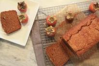 Persimmon tea Cake